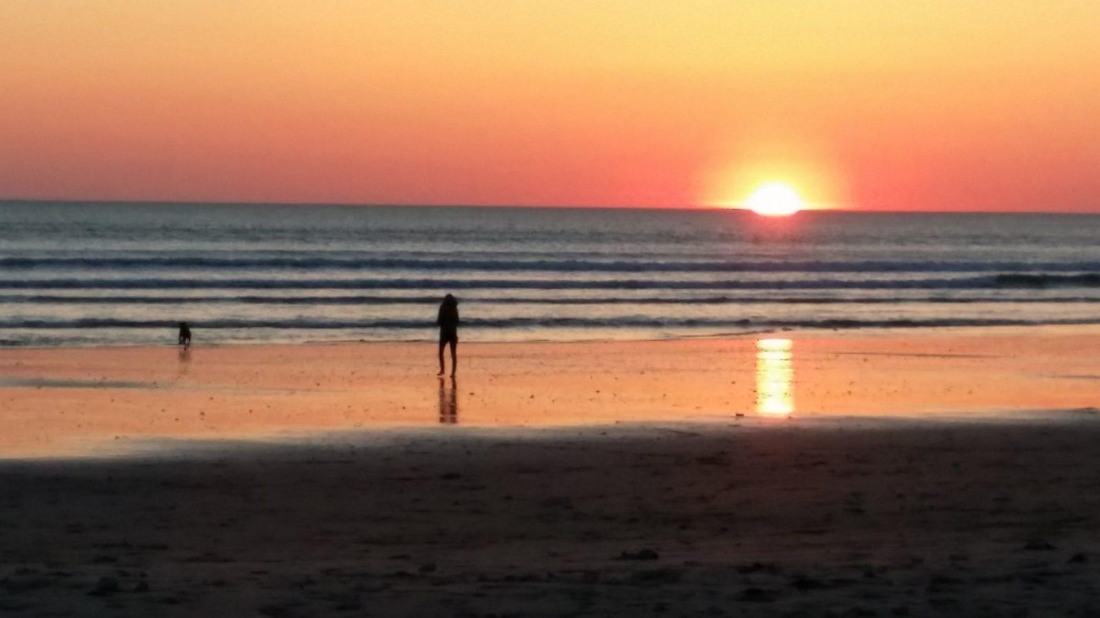 Coucher de soleil sur Ile d'Oléron