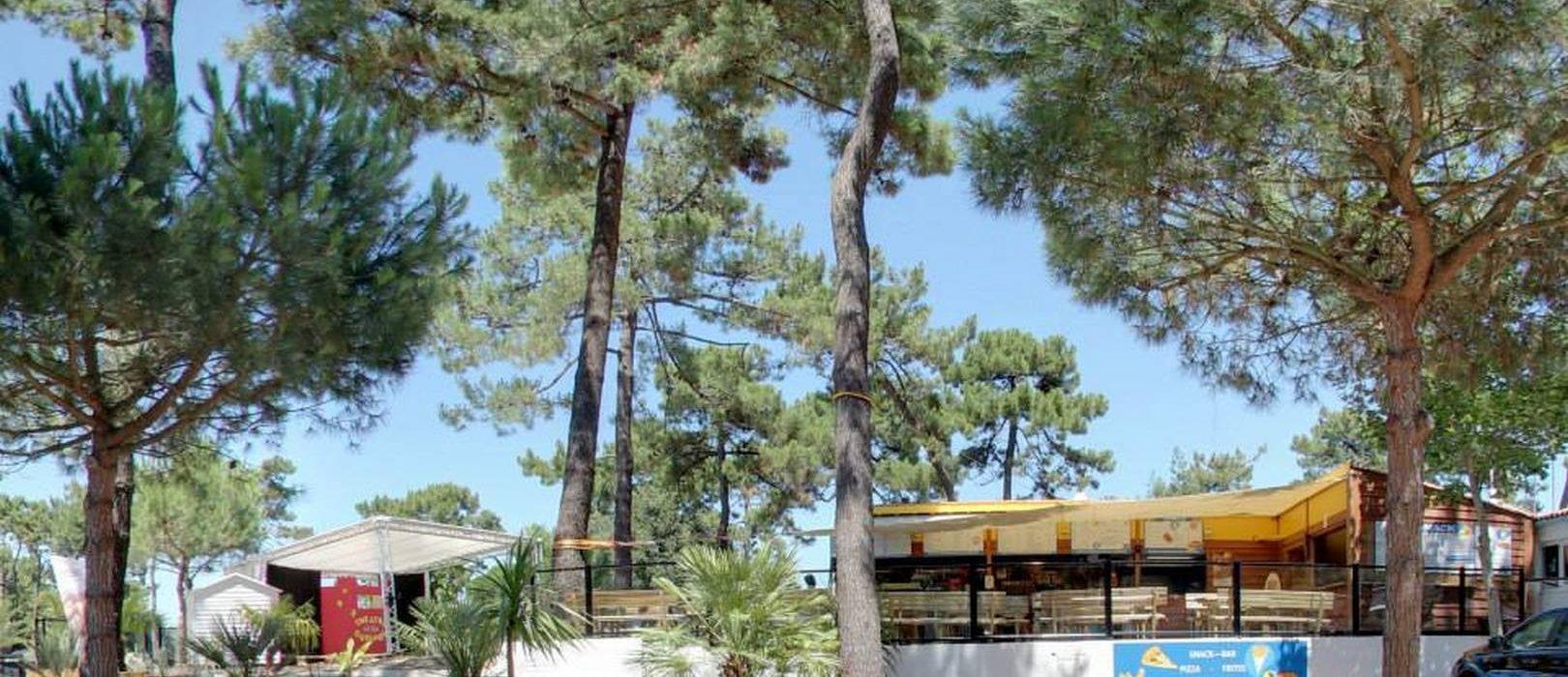 Snack-bar au Camping-club les pins d'Oléron