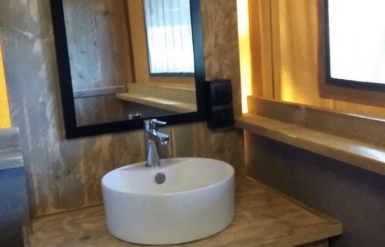 salle d'eau avec seche serviette (1)